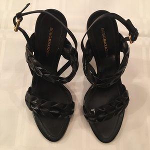 BCBG MAXAZRIA High Heel Strap Sandals